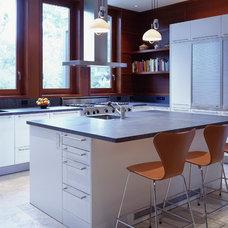 Modern Kitchen by Ehrlich Architects