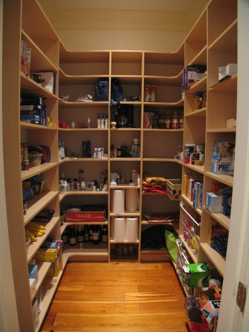 Pantry Shelving | Houzz