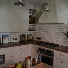 Eclectic Kitchen by Sara Walker Inc.