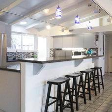 Contemporary Kitchen by Baum Construction & Development
