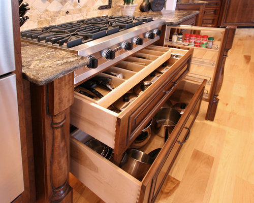Drawers Under Cooktop Home Design Ideas, Pictures, Remodel and Decor