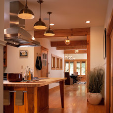 Rustic Kitchen by StoneHorse Design, Inc.