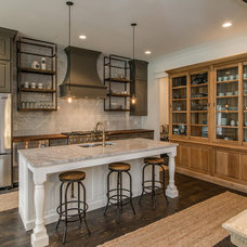 Transitional Kitchen by Brentwood Cabinets LLC