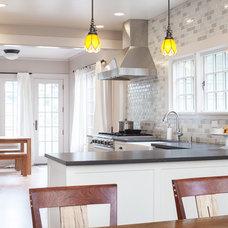 Craftsman Kitchen by Model Remodel