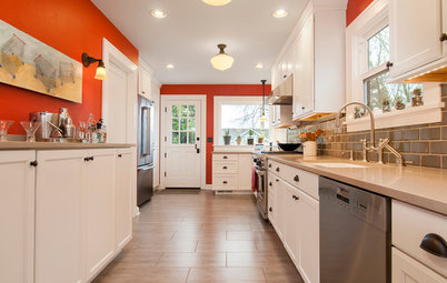 Kitchen of the Week: A Classic Craftsman Gets a Colorful Twist