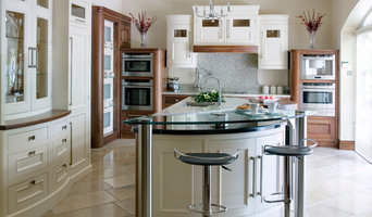 Walnut & hand painted classical kitchen