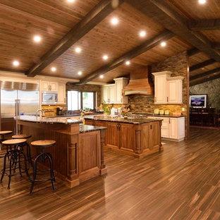 Walnut & Paint Kitchen