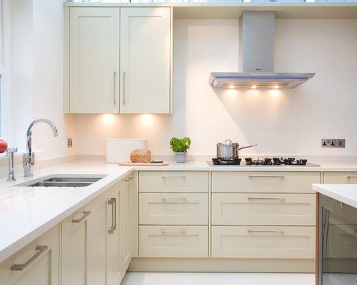 Cream Kitchen Cabinets cream kitchen cabinets | houzz