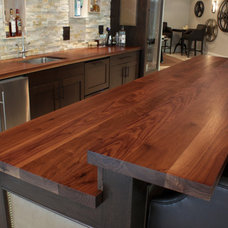 Contemporary Kitchen Countertops by J. Aaron
