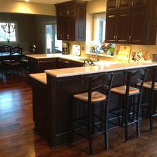 Traditional Kitchen by Young Remodeling