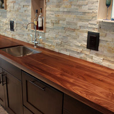 modern kitchen countertops by J. Aaron