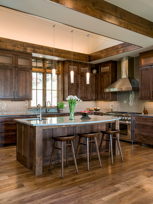 Kitchen Design Rustic rustic kitchens. furniture ideas simple carpenter made rectangular