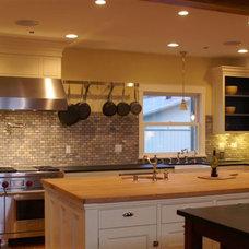 Traditional Kitchen by Julia Katrine Designs