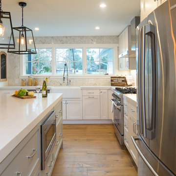 Walnut Creek Modern Farmhouse (Larkey Park)