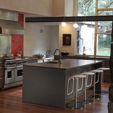 Industrial Kitchen by Bauhaus Custom Homes
