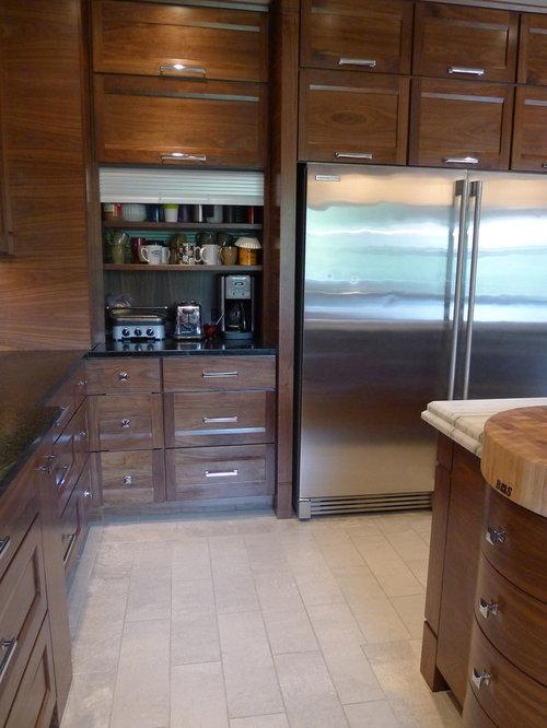 Tambour Door Appliance Garage Home Design Ideas