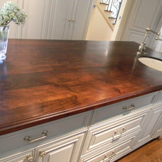 Traditional Kitchen by Texas Woodworks