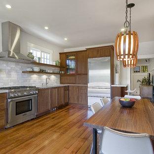 Frameless Kitchen Cabinets | Houzz
