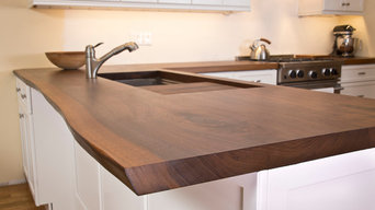 Walnut Slab Countertop
