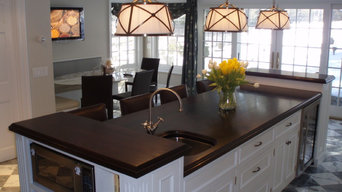 Walnut Wood Countertop - Brooks Custom