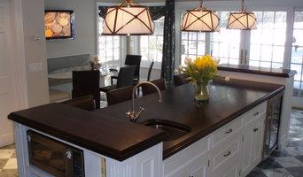 Walnut Wood Countertop - Brooks Custom