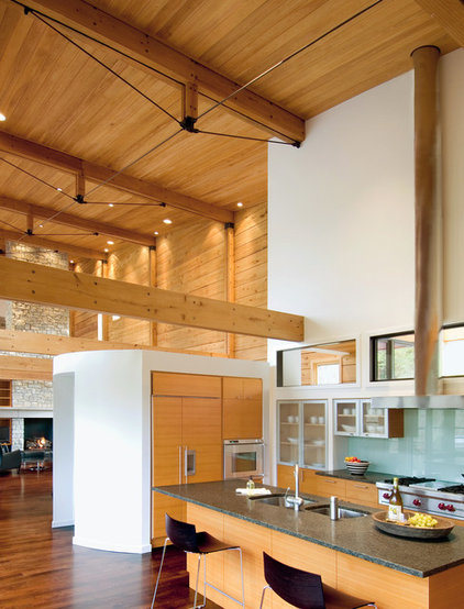 Contemporary Kitchen by John Senhauser Architects