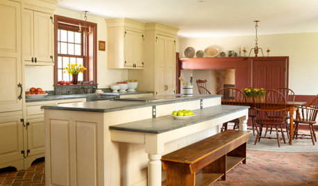 Most Porkitchen Of The Week Modern Conveniences And A Timeless Look