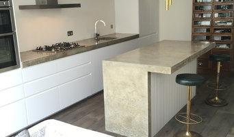 Walthamstow Village Polished Concrete Worktop