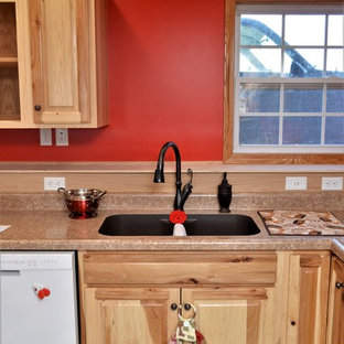 Wanatah, IN. Haas Signature Collection. Natural Rustic Hickory Kitchen