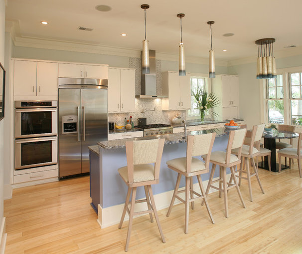 Transitional Kitchen by DLB Custom Home Design