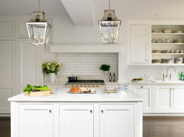 American Traditional Kitchen by Brayer Design