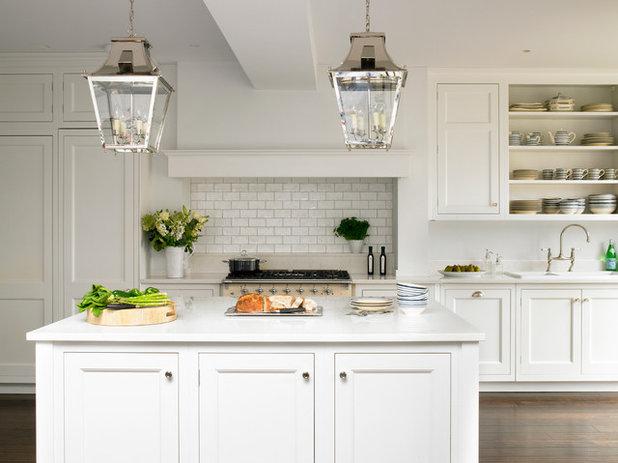 Traditional Kitchen by Brayer Design
