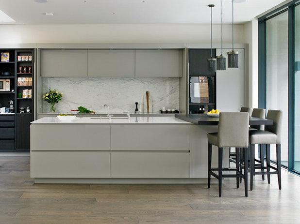 Contemporary Kitchen by Brayer Design
