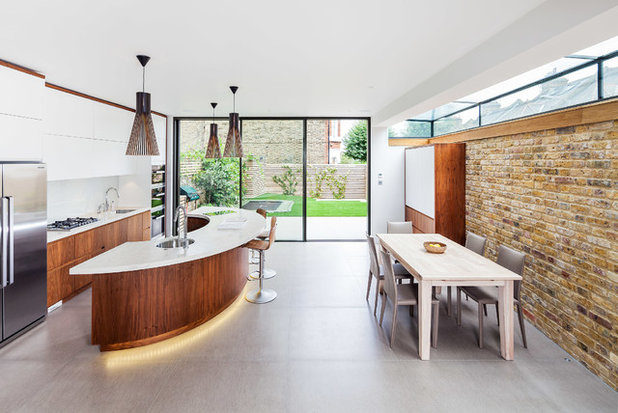Contemporary Kitchen By Inspired Dwellings