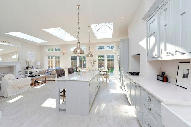 Transitional Kitchen by PVA Developments