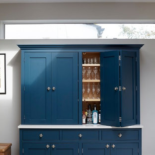 Wandsworth Wandle Road Blue Painted Dresser
