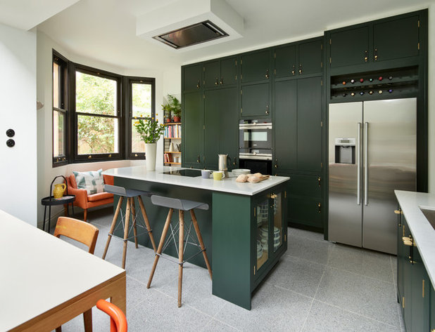 Midcentury Kitchen by PlaceDesign Kitchens and Interiors