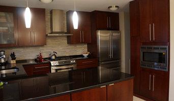 Warm and Modern Kitchen