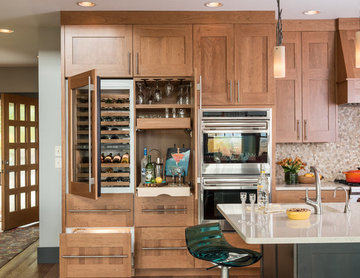 Warm and Relaxing - Wagner Cabinetry