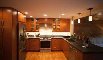 Warm & Sleek Kitchen