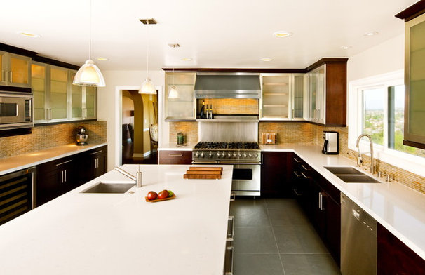 Contemporary Kitchen by JRP Design & Remodel