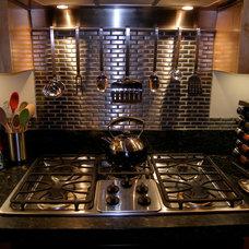 Contemporary Kitchen Warm Contemporary Modern Kitchen
