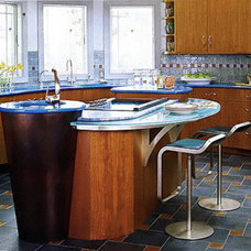 Contemporary Kitchen by Susan Serra