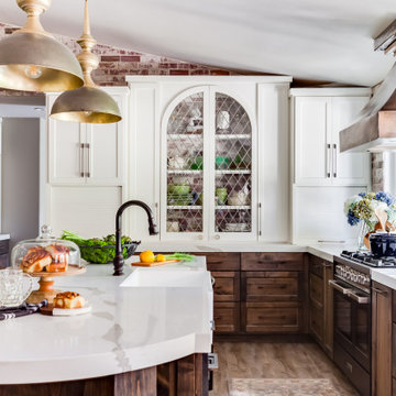 Warm Eclectic Kitchen