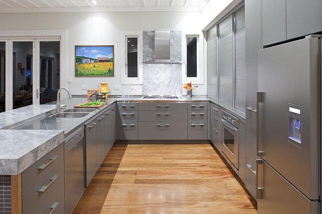 Contemporary Kitchen by Natalie Du Bois