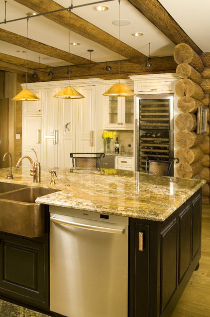 Rustic Kitchen by Signature Design & Cabinetry LLC