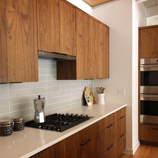 Warm Mid Century Ranch Kitchen