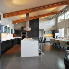 Modern Kitchen by Candace Nordquist Interiors