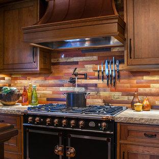 Warm Rustic Cabin Kitchen