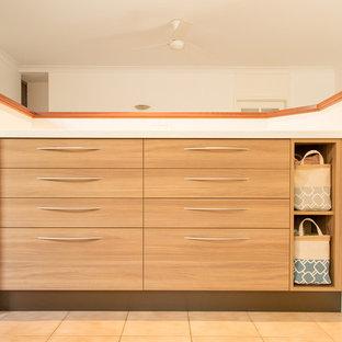 warm timber kitchen